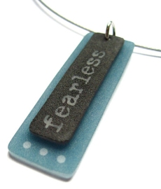 i am fearless pendant