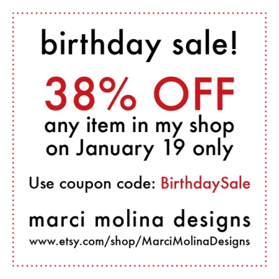 birthday coupon etsy