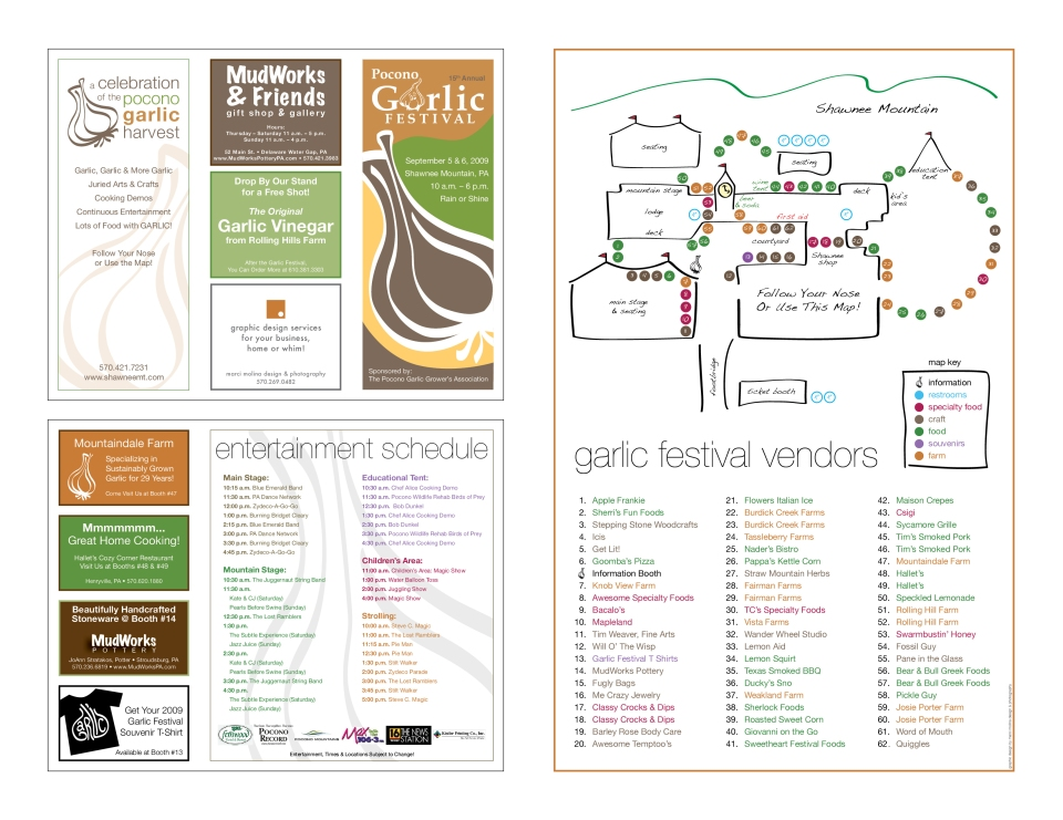 brochure sample pages