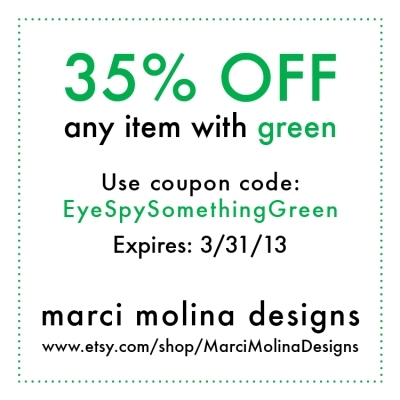 35 off green coupon